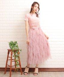 Primazel/Tシャツ チュールスカート セットアップ/502403979
