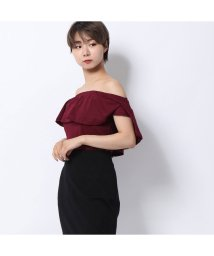 GUESS/ゲス GUESS MALANIA OFF-THE-SHOULDER BODYSUIT (MULBERRY A489)/502404903