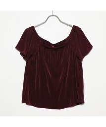 GUESS/ゲス GUESS GINGER OFF-THE-SHOULDER TOP (MULBERRY A489)/502404911