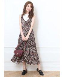 Apuweiser-riche/裾切替キャミワンピース/502405000