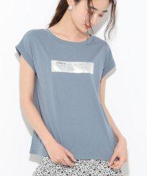 ViS/アソートロゴプリントTシャツ/502405078