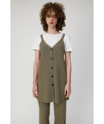 moussy/BUTTON UP LONG ニットタンク/502408828