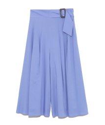 Mila Owen/ベルトデザインスカート見えガウチョパンツ/502409035