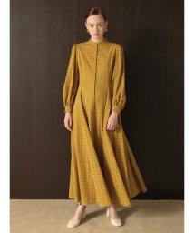 Lily Brown/コットン刺繍ロングワンピース/502409144