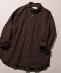 ADAM ET ROPE'/フィンクスコットン オーバーサイズBDシャツ/502405085