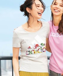 Ranan/<adidas>フラワーTシャツ      /502271973