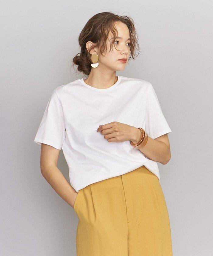 BY 50/2 コットンクルーネックTシャツо