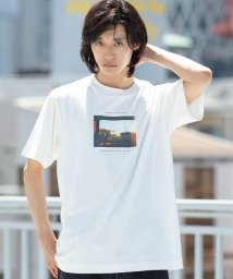 coen/カラーフォトプリントTシャツ/502409274