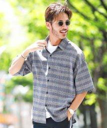 JIGGYS SHOP/ビッグシルエットシャツ / 半袖シャツ メンズ カジュアルシャツ シャツ ビッグシルエット ルーズシルエット/502409737