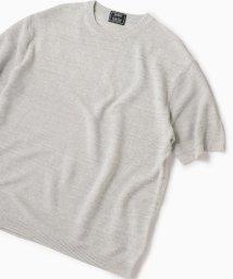 SHIPS MEN/SC: ユーロリネン/コットン ニット Tシャツ/502410850