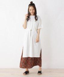 SHOO・LA・RUE Cutie Blonde/綿Tシャツワンピース+スカートセット/502410953