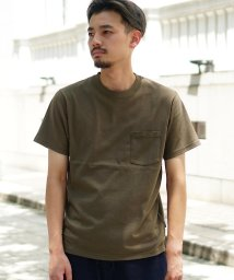 BEAMS MEN/BEAMS / グラスループ ポケット Tシャツ/502350383