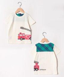 kladskap/働く車プリントTシャツ/502400527
