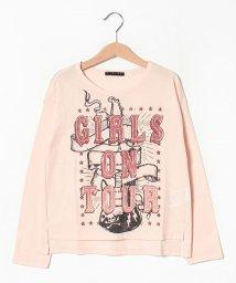 SISLEY YOUNG/ロックガールプリントTシャツ・カットソー/502404282