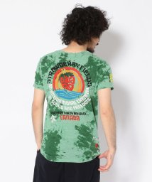 RAWLIFE/【RAWLIFE限定】birdog/バードッグ/hand embroidery tye-dye t-shirts -STRAWBERRY FIELDS-/手刺繍/502412022