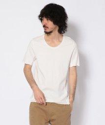 RAWLIFE/RAWLIFE original/ロウライフ オリジナル/ピグメント加工クルーネックTシャツ/502412165