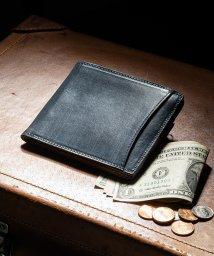 MURA/MURA 財布 メンズ 二つ折り 薄型 スキミング防止 イタリアンレザー ブライドルレザー/502413592