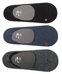 LUXSTYLE/Healthknit(ヘルスニット)Ag+ 抗菌加工無地インステップソックス 3足セット/靴下 メンズ ソックス ショートソックス くるぶし 抗菌/502415666