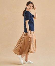 JIYU-KU /【洗える】レースTシャツ セットアップ/502417220