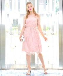 Dear Princess/【WEB限定】総レース ワンピース/502417315