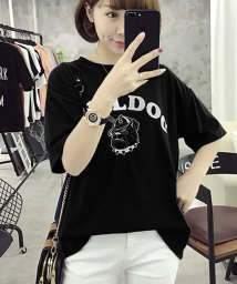 felt maglietta/ブルドッグのプリントが可愛い♪プリントTシャツ/502354900