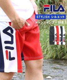 MARUKAWA/【FILA】フィラ サイド切替サーフトランクス/502354980