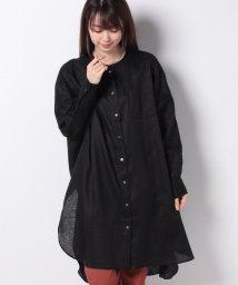MARcourt/【mizuiro ind】stand collar long shirt*/502397524