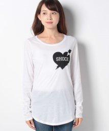 SISLEY/プリント長袖Tシャツ・カットソー/502404289