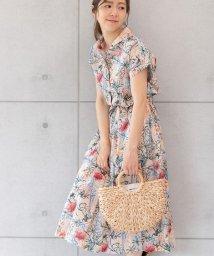 PREFERIR/花柄フレンチシャツワンピース/502404955