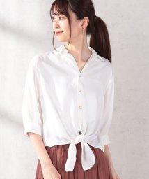 31 Sons de mode/前結びシャツ/502405172