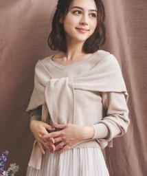 Noela/【美人百花9月号掲載】レイヤードニット/502417374