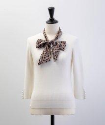 Noela/スカーフ付リブニット/502417375