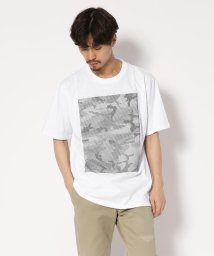 RAWLIFE/AKM Contemporary/エイケイエム/line camouflage print wide t-shirts/502419688