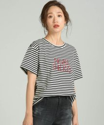 LIPSTAR/NEVER THELESS-ロゴTシャツ/502420274