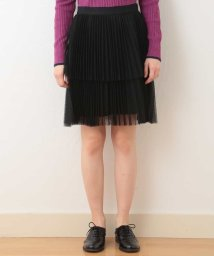 Tara Jarmon/【洗える】チュールプリーツディアードスカート IMPORTED/502420313