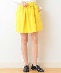 Tara Jarmon/コットンギャザースカート IMPORTED/502420318