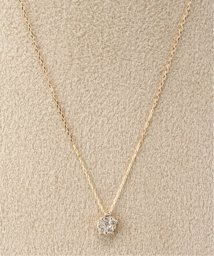 DECOUVERTE/18KYG 0.1ct ダイヤモンド ネックレス/502420667