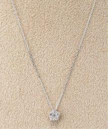 DECOUVERTE/18KWG 0.1ct ダイヤモンド ネックレス/502420668