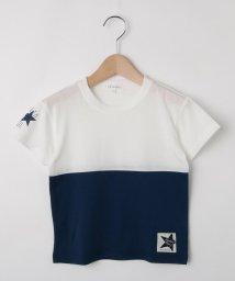 3can4on(Kids)/【90cm~160cm】【接触冷感】切替配色Tシャツ/502420768