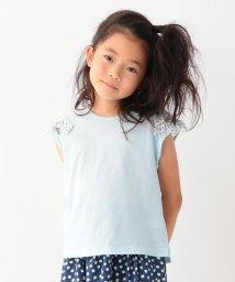 3can4on(Kids)/【90cm~160cm】【接触冷感】肩開きリボンTシャツ/502420770