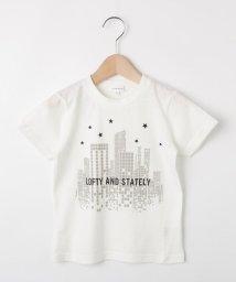 3can4on(Kids)/【コットン100%】【90cm~150cm】ロゴ&ビルプリントTシャツ/502420896