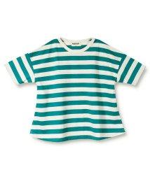 RADCHAP/ボーダービッグ半袖Tシャツ(90~140cm)/502421068