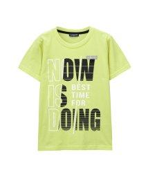 MAC HOUSE(kid's)/T-GRAPHICS ボーイズ ネームフォルダー付き Tシャツ MH/TG739B/502421103