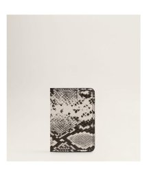 MANGO/カードケース P-- EUGENE (グレー)/502421357