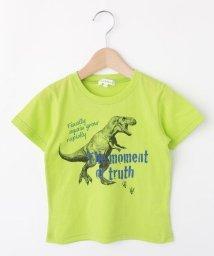 3can4on(Kids)/【コットン100%】【100cm~160cm】恐竜プリントTシャツ/502422595