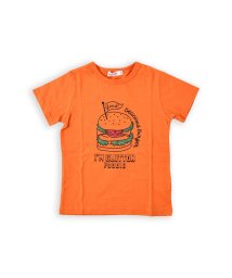 SLAP SLIP/天竺ハンバーガープリントTシャツ/502326999