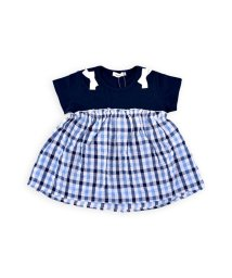 SLAP SLIP/天竺マドラスチェックTシャツ/502327004