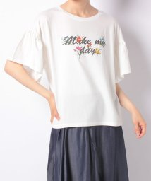 en recre/【Special Price】ラッフル袖カットソー/502392459