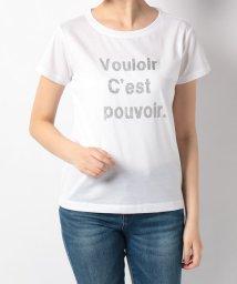 en recre/【Special Price】ラメロゴTシャツ/502392478