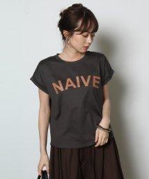 SCOTCLUB/Vin(ヴァン) ロールアップロゴTシャツ/502393802